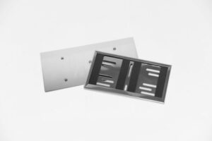 Edelstahl Adapterplatte
